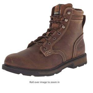 """Ariat Men's Groundbreaker 6"""" Work Boot, Brown, 9.5"""